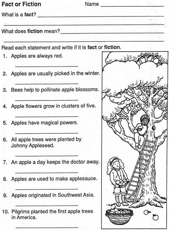 ELEMENTARY SCHOOL ENRICHMENT ACTIVITIES: JOHNNY APPLESEED FACT OR ...