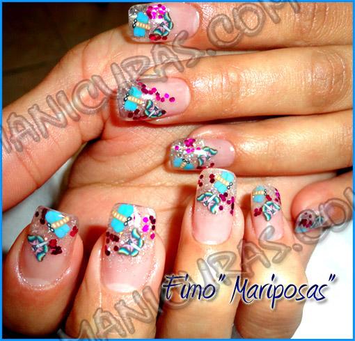 Uñas decoradas - Diseños de uñas - Decoración de uñas con
