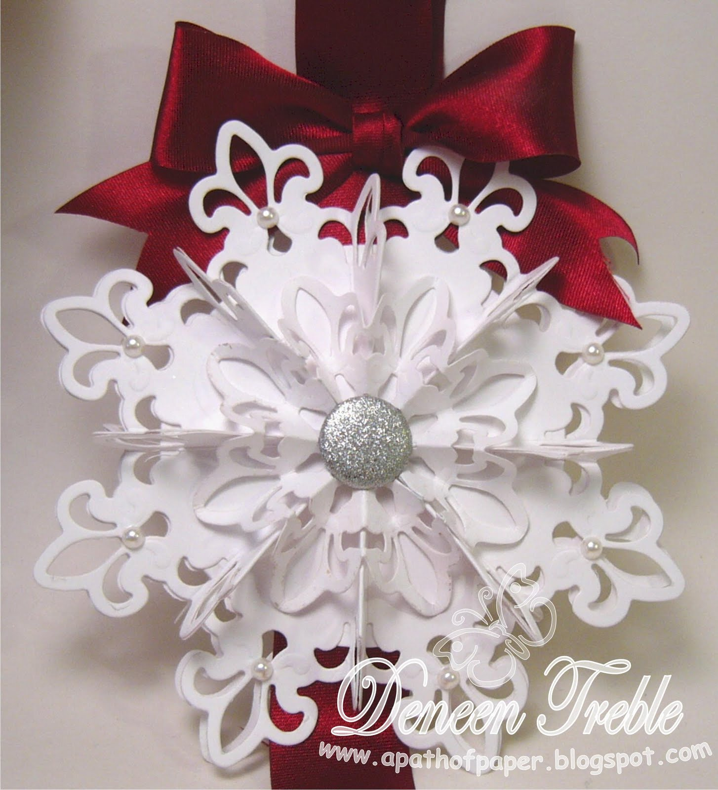 A path of paper top tip tuesday snowflakes for 3d hanging snowflake decoration