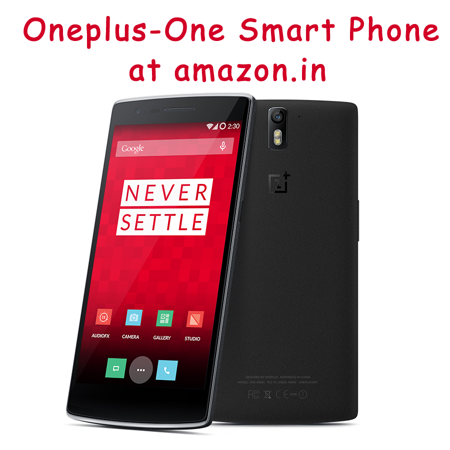 View of oneplus-one smartphone
