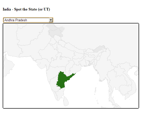 Tech tips tricks trivia how to highlight a province within a you can adapt the original sample to make it work for any country you have to use the iso 3166 2 provincestate codes example india for the country you gumiabroncs Images