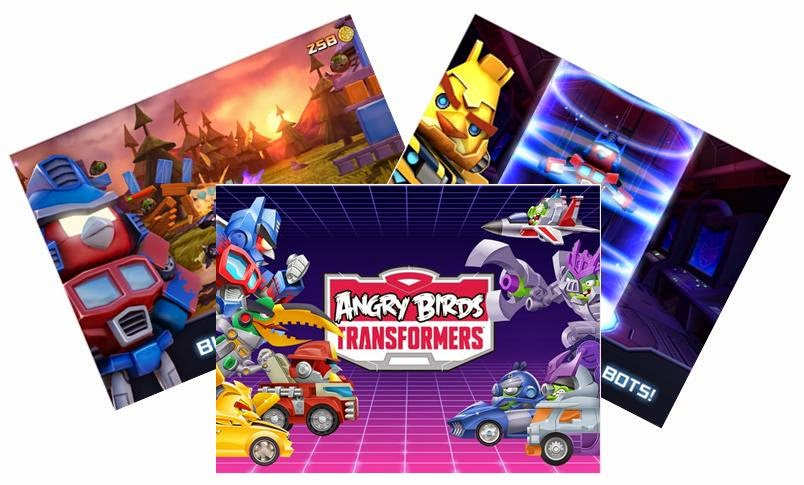 Angry Birds Transformers apk Full For Android