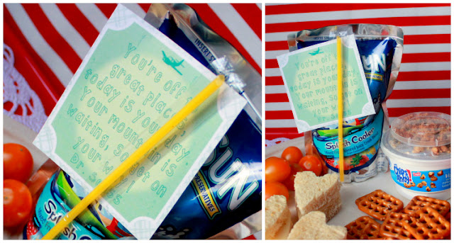 Literary Lunch Box Notes by www.spoolandspoonblog.com for Sumo's Sweet Stuff