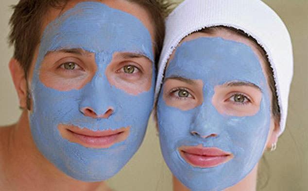 Голубая глина маски в домашних условиях