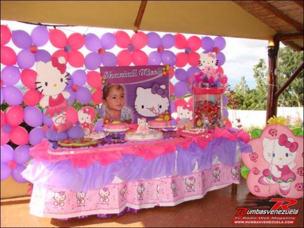 Decoracion Hello Kitty Fiestas Infantiles ~ HELLO KITTY
