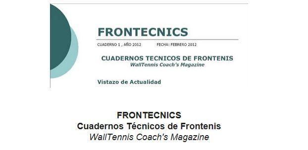 REVISTA FRONTECNICS año 2