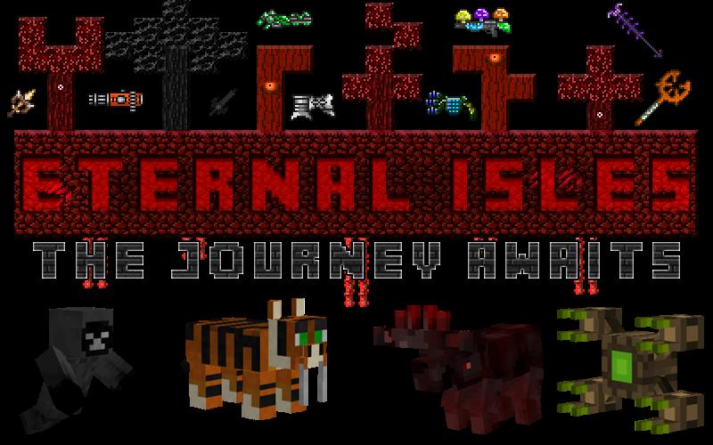 Eternal Isles Mod para Minecraft 1.7.2/1.7.10