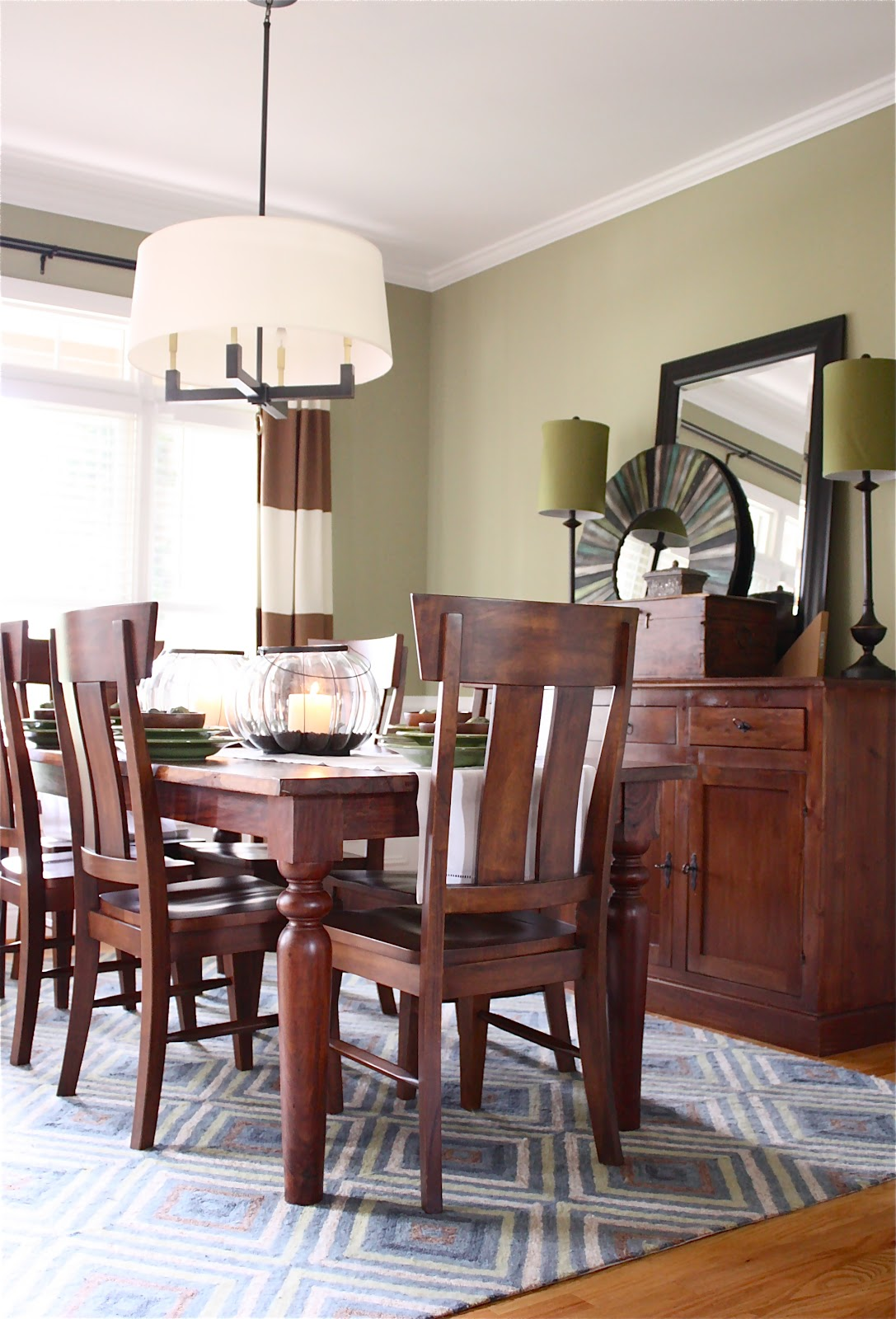 The Yellow Cape Cod: Client Dining Room Makeover~Before