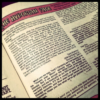 A square photo of The Hyperborean Page, featured in Conan the Barbarian #111.