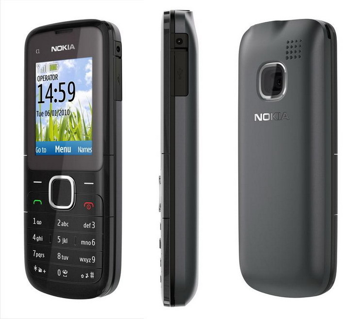 The most reliable mobile Nokia C1-01