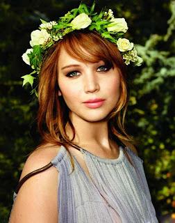 jenniferlawrencenohacedieta Coronas de flores para tu boda