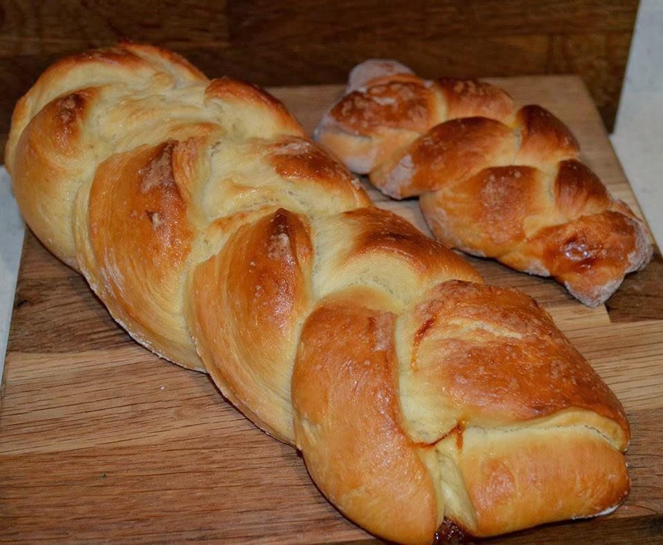Coletas de pan dulce