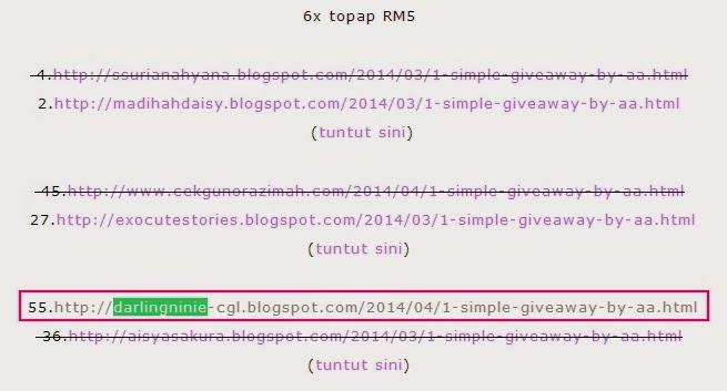 http://eira-shamiera.blogspot.com/2014/04/pemenang-1-simple-giveaway-by-aa.html