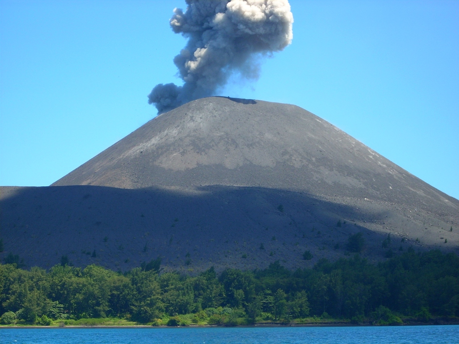 Piss off the volcano