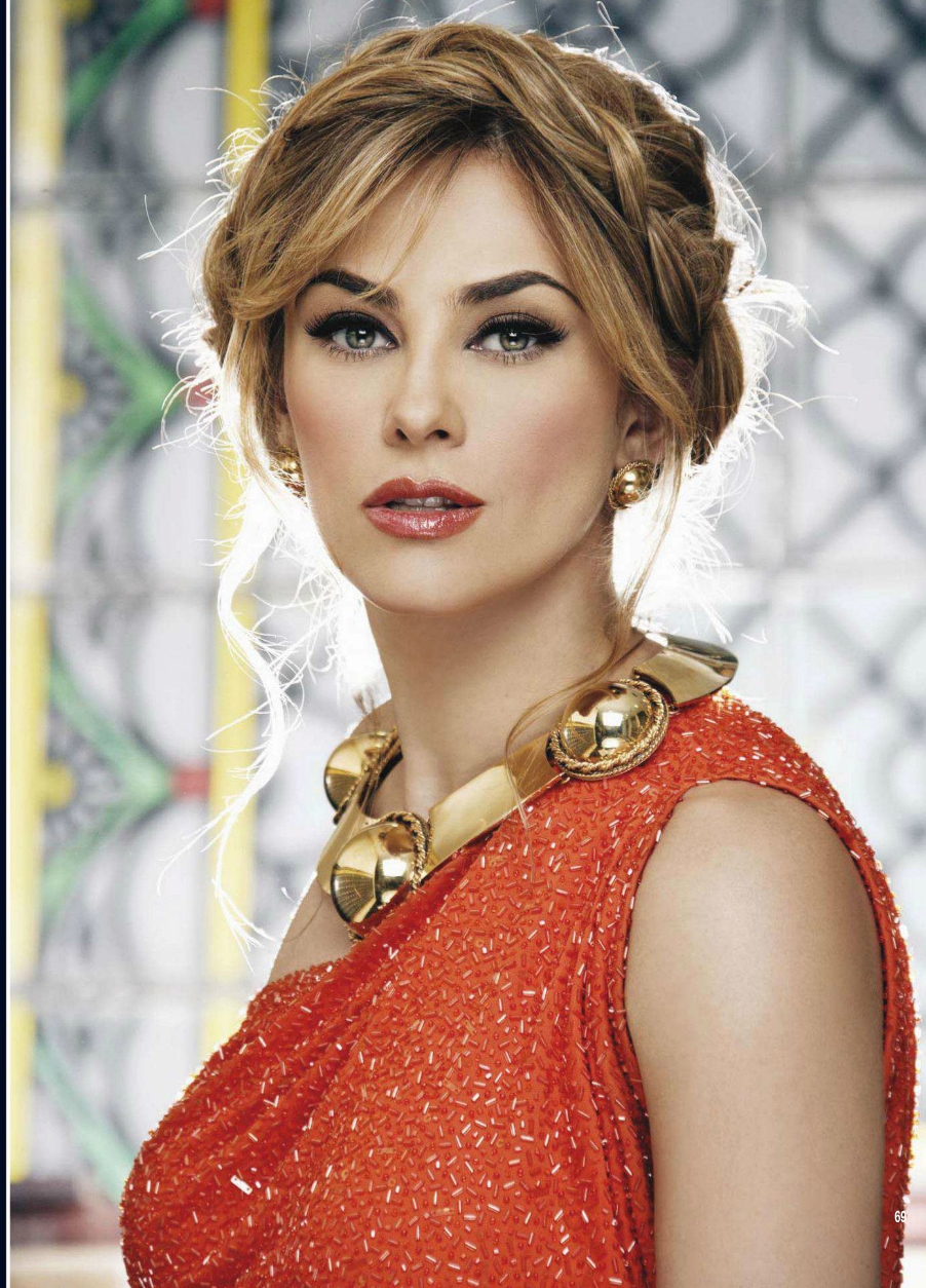 beautiful Mexican actress, model and singer, Aracely Arámbula looks ...