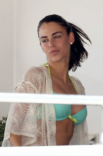 Jessica Lowndes Mive  in a Bikini Top roaming in public in Cannes, France