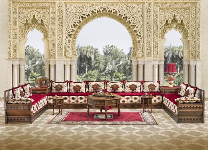 salon marocain rouge et orange salon marocain moderne orange marron lombards - Salon Marocain Moderne Orange Marron