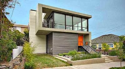 Desain Rumah Minimalis Perkotaan 8