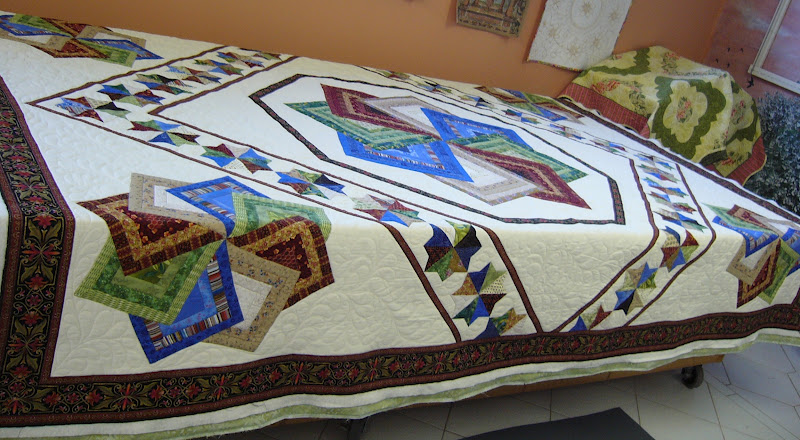 Quilt Patterns Strata Star : caledonia quilter: Star Spin by Oregon Treasures