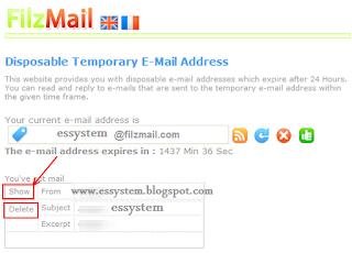 روش ،  ساخت ایمیل یکبار مصرف