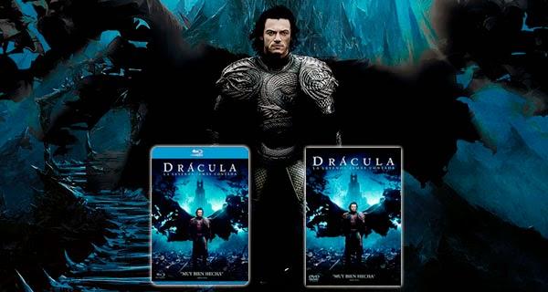 Drácula: La Leyenda Jamás contada DVD y Blu-Ray
