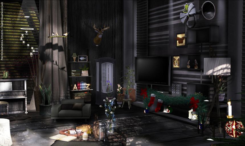Swag Lamp Living Room