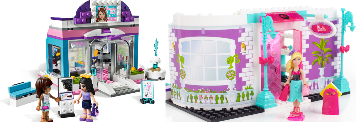 Mega Bloks Barbie Fashion Boutique Barbie Doll House Like Lego the Barbie Mega Bloks sets