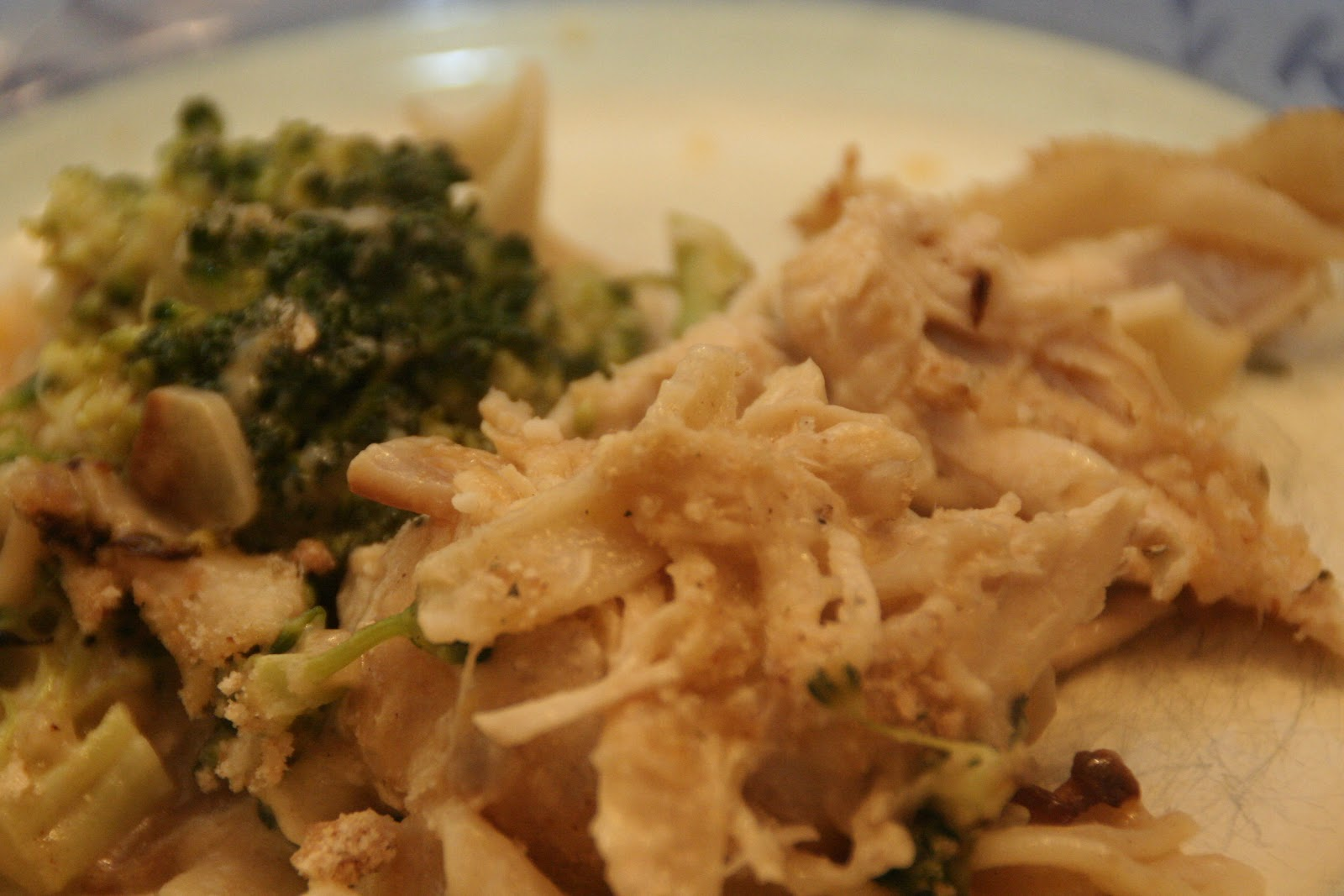 Tales from the Mad Men Kitchen: Chicken and Broccoli Noodle Casserole