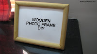 Photo frame DIY