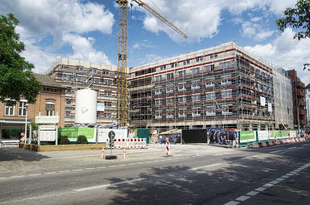 Baustelle Erweiterung Evangelische Elisabeth Klinik, Lützowstraße / Potsdamer Straße, 10785 Berlin, 13.07.2013
