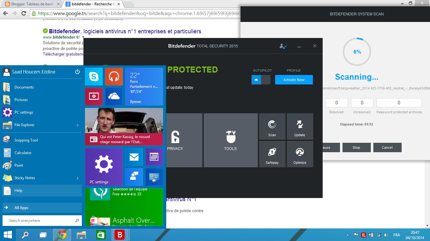 Bitdefender patch for windows 10