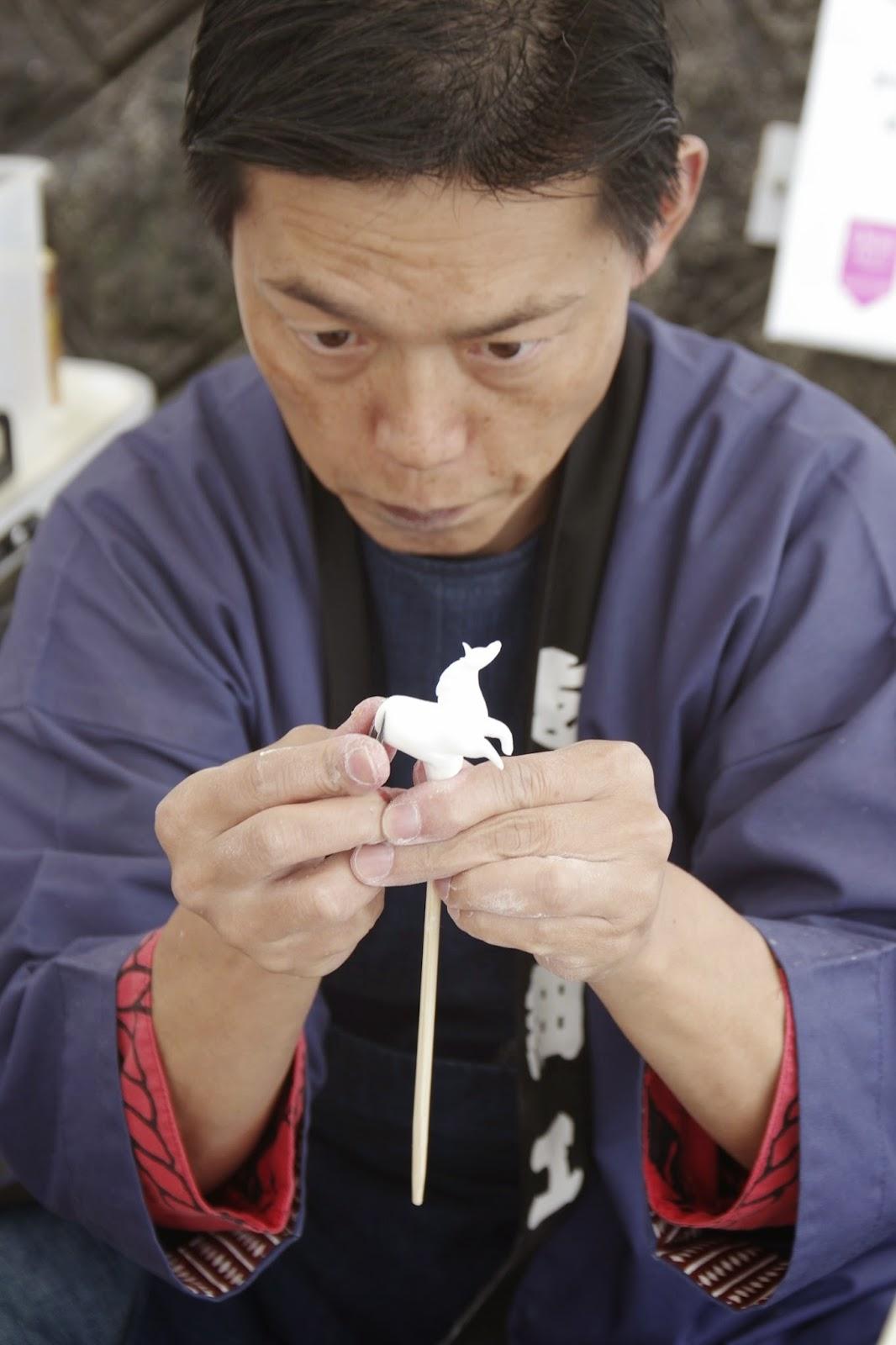 """الفن الياباني التقليدي للنحت على الحلوى""""Amezaiku"""" 14568300192_571f573625_o"""