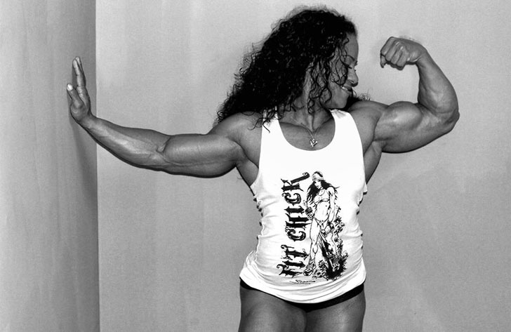 Kashma Maharaj Flexes Her Awesome Biceps
