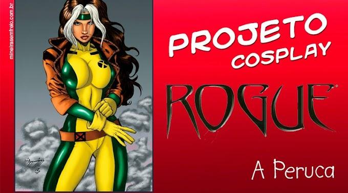 Projeto Cosplay  Rogue - a peruca