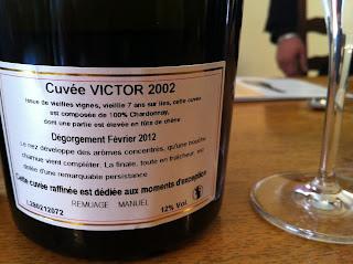 My pick, Cuvée Victor
