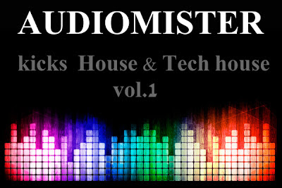 Descarga samples gratis House, Techno, Deep  & Tech House Kicks vol 1