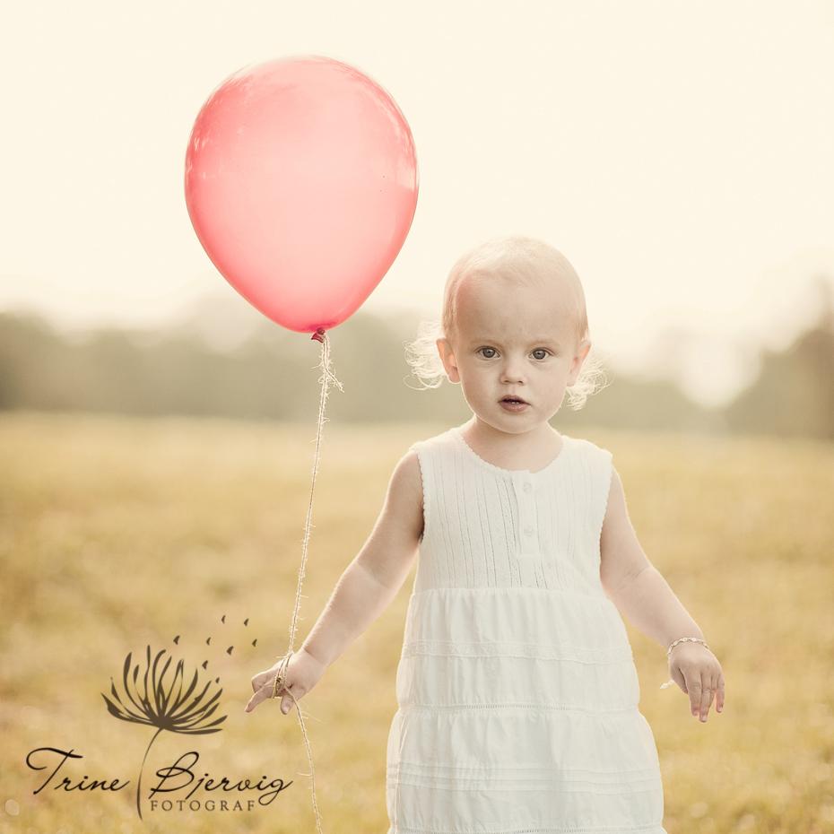 Utefotografering av barn, Fotograf Trine Bjervig