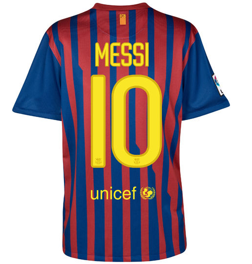 Lionel Messi 2011 Shirt & Shoes Pictures