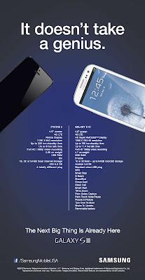 Iklan Samsung Sindir iPhone 5