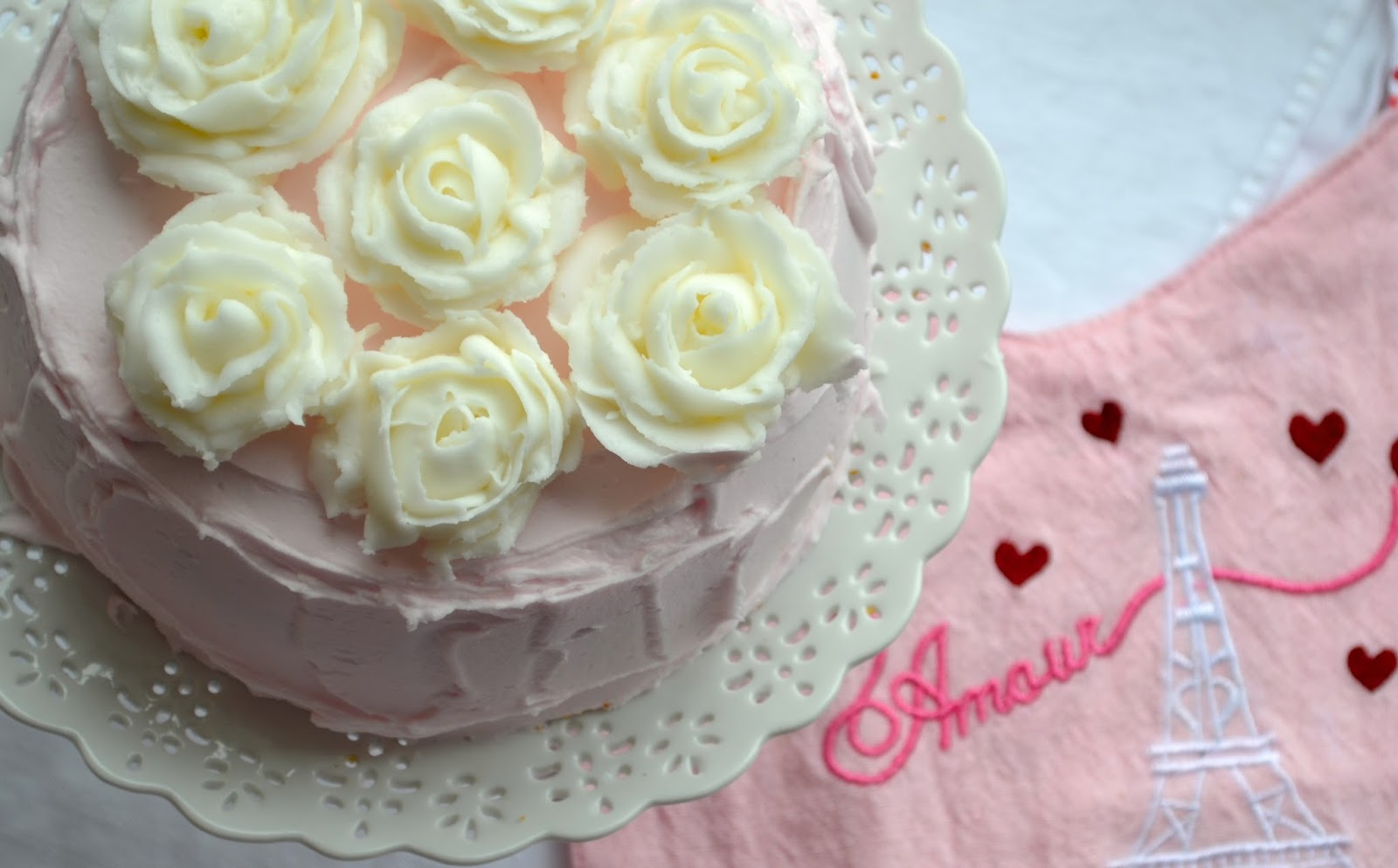 buttercream roses valentine's day
