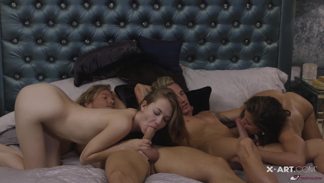 Caprice, Samantha - Fuck me four ways (X-Art)