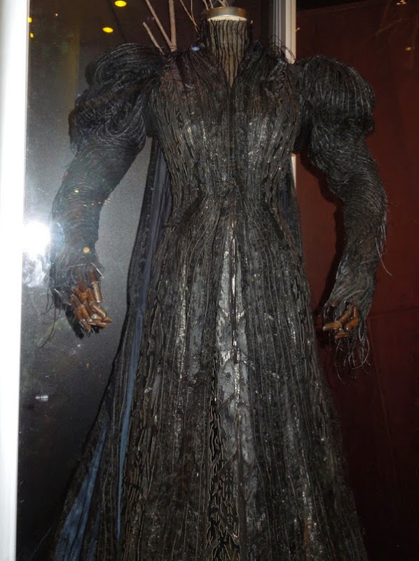 Into the Woods Witch movie costume detail