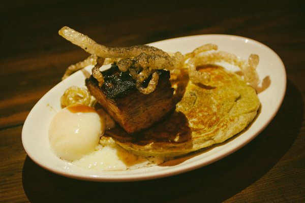 Pork Belly at The Farm House in Nashville, Tennessee