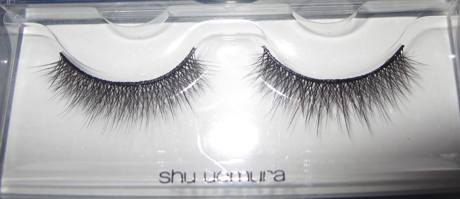 The Black Panties Shu Uemura Smoky Layers False Eyelashes
