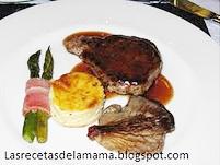 Las recetas de la mam receta de solomillo iberico de - Salsa de oporto para solomillo ...