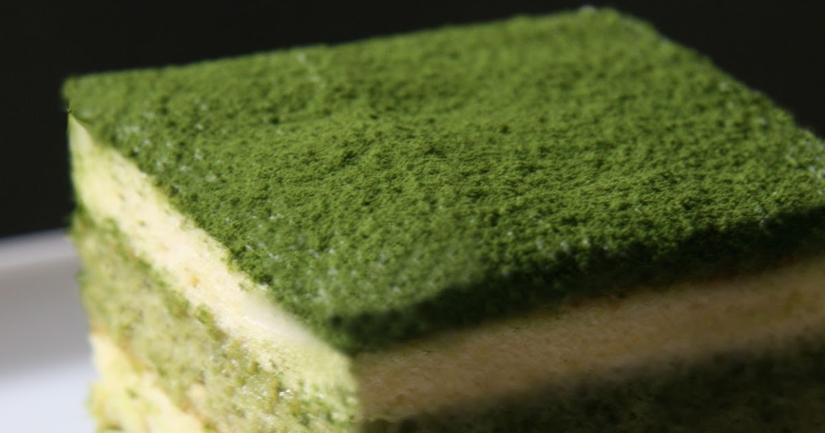 Cooking With Japanese Green Tea Matcha Tiramisu Cake