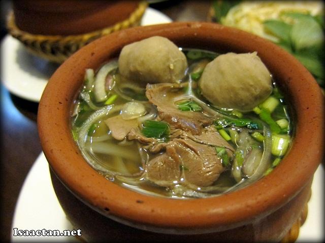Special Vietnamese Beef Noodle Soup - RM13.90