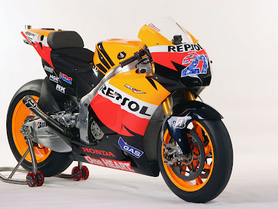 2011 Repsol Honda RC212V MotoGP Wallpapers