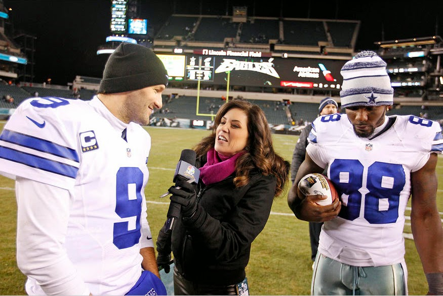 Tony Romo Dez Bryant Dallas Cowboys