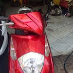 Cửa hàng cần bán xe Dylan nhập khẩu Ý đời 2005 màu đỏ.Xe cực đẹp máy zin, sơn zin.